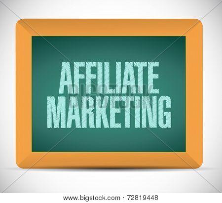 Affiliate Marketing Message Illustration Design