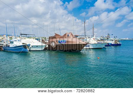 The Strange Yacht
