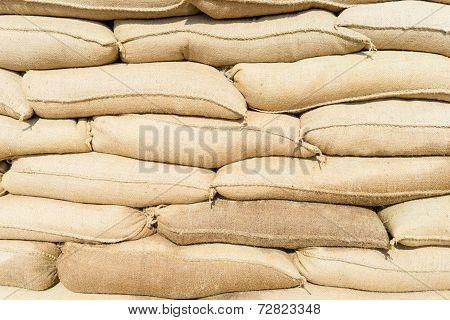 Wall Of Sandbags