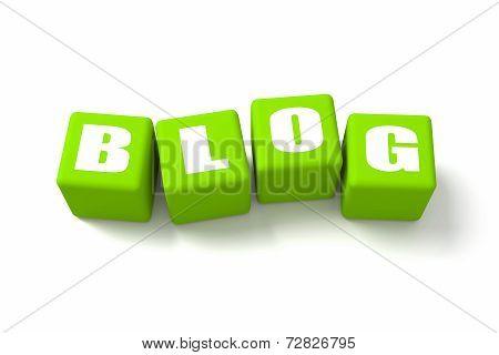 Blog Green Cubes