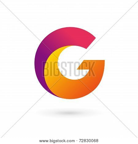 Letter G logo icon design template elements. Vector color sign.