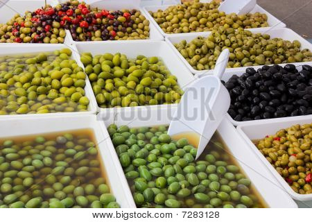 Olives In Pickle