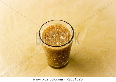Finger millet porridge mixed with curd ~ a delicacy in South India