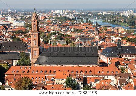 Cityscape Of Heidelberg