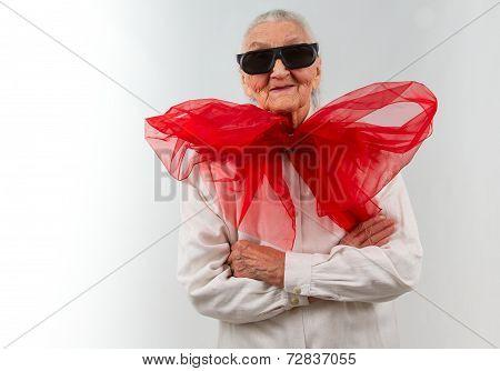Grandma With A Bizarre Style