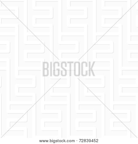 Vector Pattern - Geometric Seamless Simple Black And White Modern Volumetric Texture