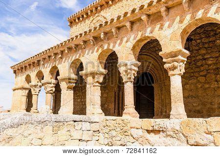 Romanesque Colonnade