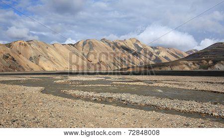 Landmannalaugar volcanic landscape, Iceland