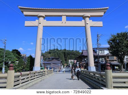 Historical town Takayama Japan