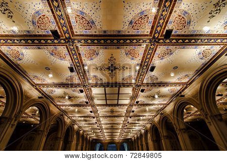 Bethesda Terrace Arcade Ceiling