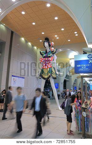 Japanese big mannequin