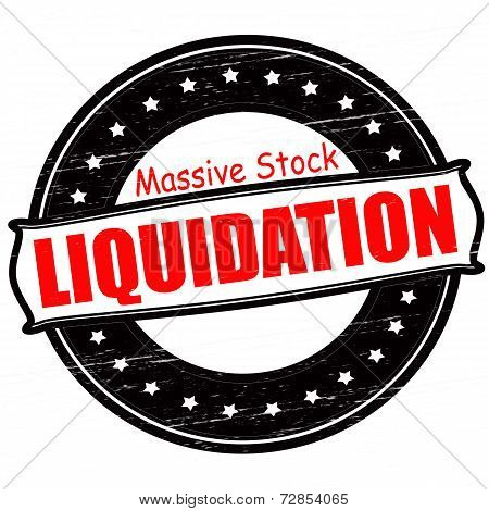 Massive Stock Liquidation