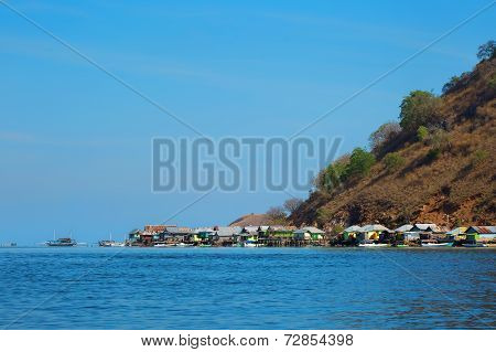 Komodo village