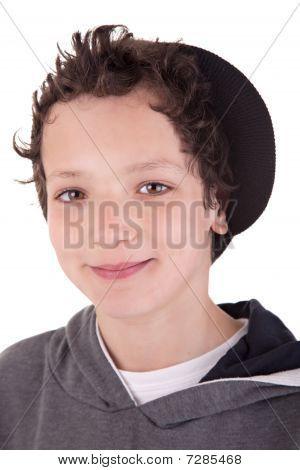 Cute Boy, Smiling