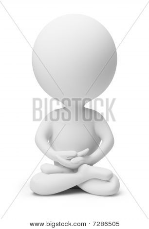 3D Small People - Meditation