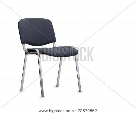 The Gray Office Chair. Isolated