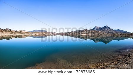 Embalse De Zahara Lake, Grazalema National Park, Spain