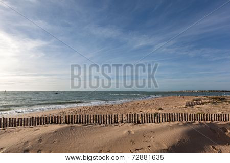 Beach On Spanish Atlantic Coast