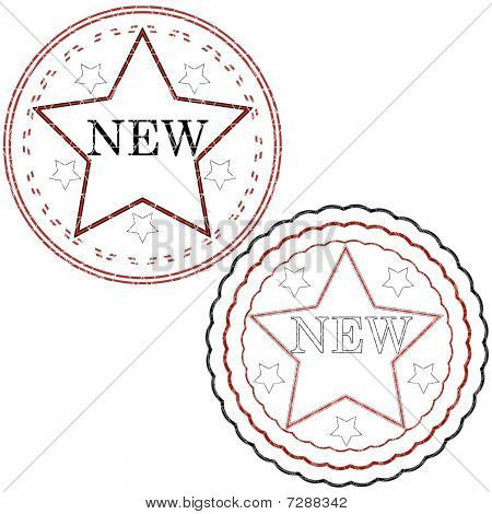 Starred Stamps