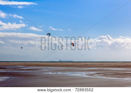 Kite Surfing In Tarifa
