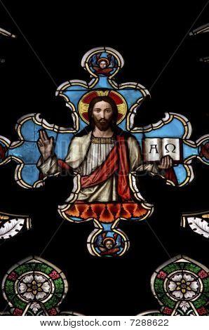 Jesus Christ - Stained Window