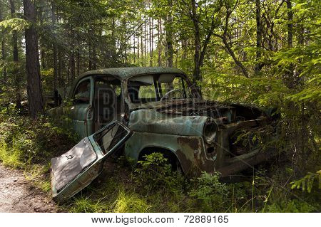 Car Dump In Kirkoe Mosse