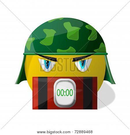 terrorist smiley