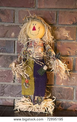 Fall Scarecrow Decoration