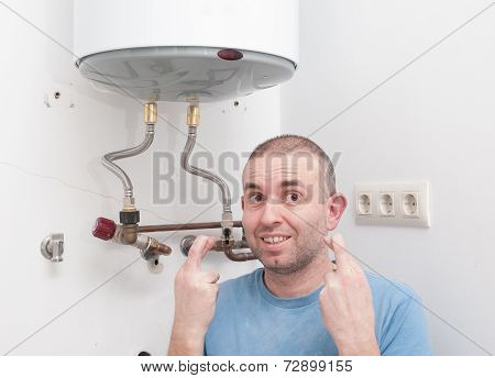 Plumber Home Hoping To Get Lucky