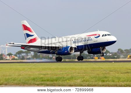 A318 British Airways
