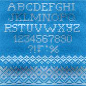 pic of scandinavian  - Vector Illustration of Christmas Font - JPG