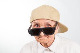 pic of grandma  - Funny grandma - JPG