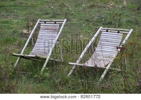 Deckchairs In Wilderness