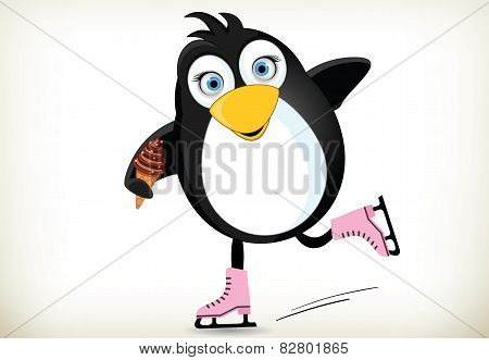 iceskating Penguin