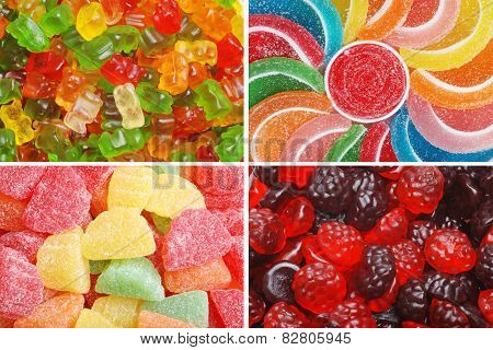 assorted chewy candy
