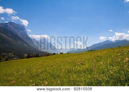 The View Of Dolomiti Mountain