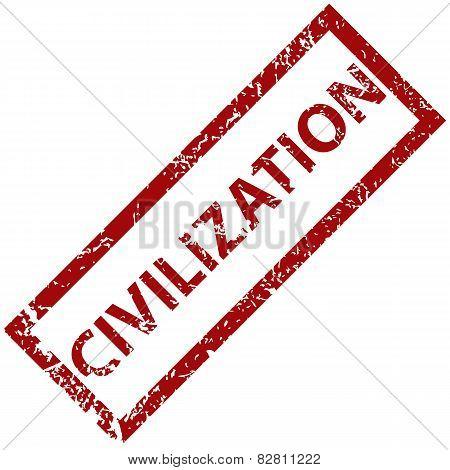 Civilization rubber stamp