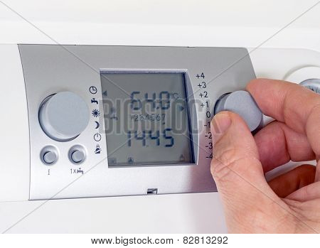 Programming Boiler Thermostat