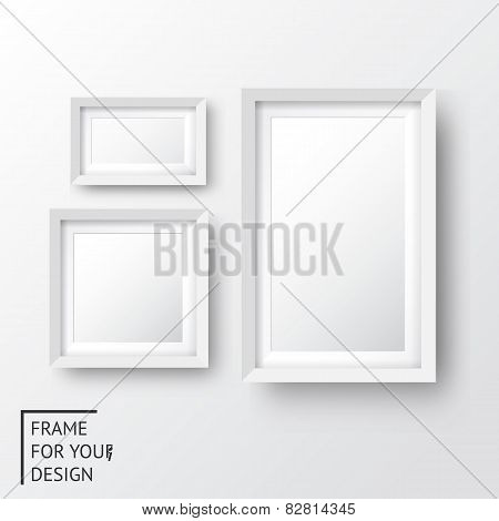 Realistic picture frame