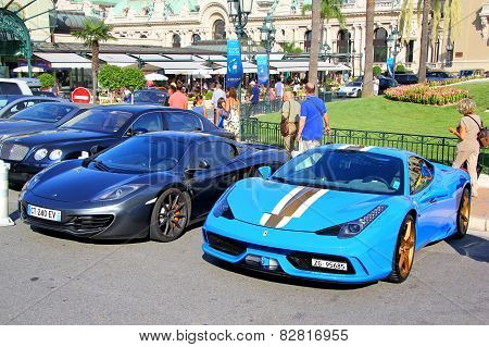 Ferrari 458 Speciale And Mclaren Mp4-12C