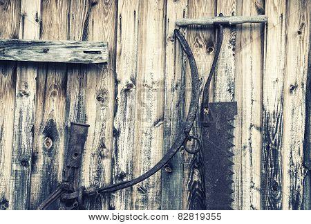 Old Logging Tools - Retro