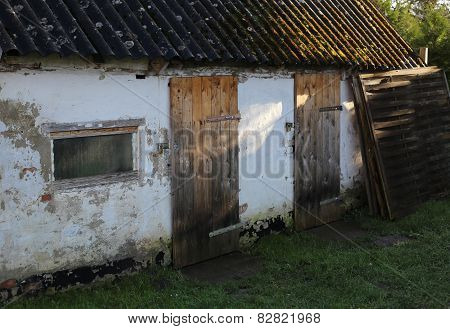 Old Shed In Sunlight