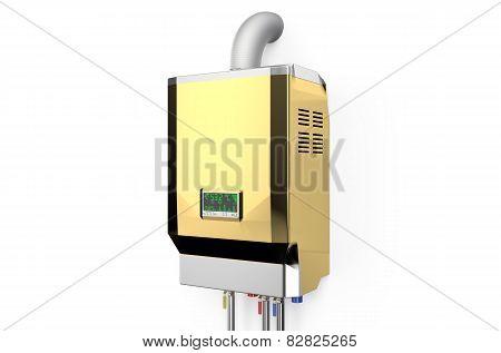 Golden Home Gas-fired Boiler,  Water Heater