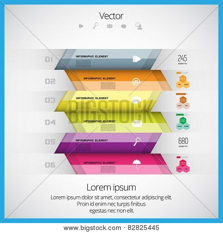 Vector infographic