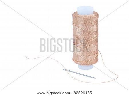 Nylon thread with a needle