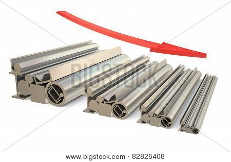 Price Falls In The Steel Rolling