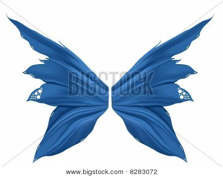 Blue Faery Wings