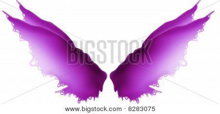 Violet Fairy Wings