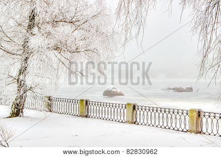 Central Promenade City Vyborg Russia