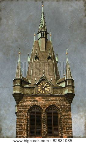Jindrisska Tower - Vintage